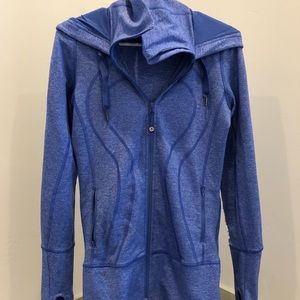 Women's lululemon zip up hooded jacket
